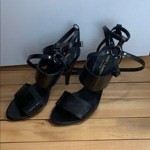 Strappy Saint Laurent Fetish Heels